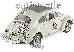Hot Wheels Elite Disney The Love Bug Herbie #53 VW Volkswagen Beetle 118 BCJ94