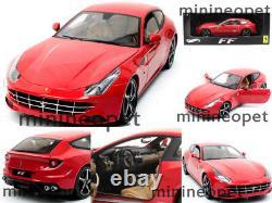 Hot Wheels Elite W1105 Ferrari Ff V12 Four 4 Seater 1/18 Diecast Red