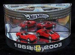 Hot Wheels Ferrari 62 1962 250 GTO 03 2003 Enzo Limited Edition 2- Car Set HTF