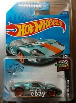 Hot Wheels Ford HT40 Super Treasure Hunt on mint card