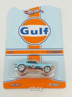 Hot Wheels GULF RLC 6 Pieces VW Drag Bus Beetle Camaro Porsche Ford GT40 164