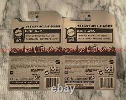 Hot Wheels Guster 55 Chevy Bel Air Gasser Super Rare Factory Error +Extra