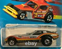 Hot Wheels Holy Grail (1) 1979 Vetty Funny Mongoose Corvette Error Car (moac)