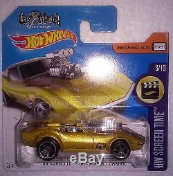 Hot Wheels Hunt (1) 2017'68 Corvette Gas Monkey Garage Short Card (momc)