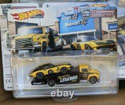 Hot Wheels Legends Tour Team Transport Corvette Carrier Walmart exclusive