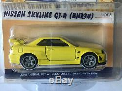 Hot Wheels Los Angeles 33rd Collectors Convention Nissan Skyline GT-R (BNR34)