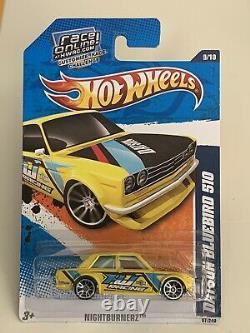 Hot Wheels Lot Of 14 Misc. 71 Datsun Bluebird 510 Jun Imai HTF JDM 1/64 Diecast