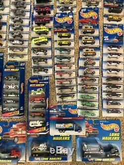 Hot Wheels Lot of 300 Cars Unopened Blister Packs
