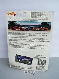 Hot Wheels MOC 1990 California Custom Mtfk Blue'67 CAMARO International #2103