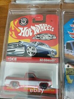 Hot Wheels Modern Classics Red'83 Chevy Silverado Very Hard To Find