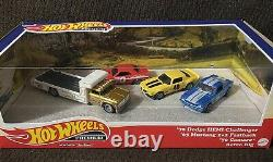 Hot Wheels Premium Set'70 Dodge Hemi Challenger'65 Mustang'70 Camaro