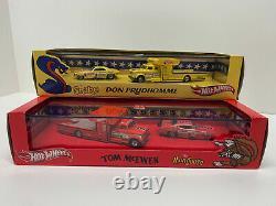 Hot Wheels RLC 2011 Snake & Mongoose Funny Car & Hauler Sets 1/5000