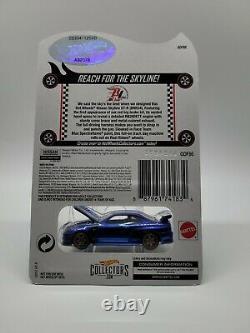 Hot Wheels RLC 2018 Nissan Skyline GT-R (BNR34) Blue HTF 5334/12500