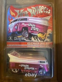 Hot Wheels RLC 2021 17442/20000 EXCLUSIVE Candy Striper Volkswagen Drag Bus