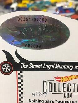 Hot Wheels RLC 70 Mustang Boss 302 MIB Blue Goodyear Real Riders SWEET (b25)