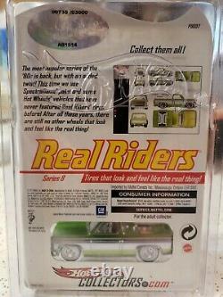 Hot Wheels RLC 83 Chevy Silverado Real Riders VHTF, 735 of 3000