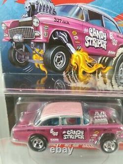 Hot Wheels RLC Candy Striper 55 Chevy Bel Air Gasser