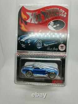 Hot Wheels RLC Carrol Shelby Cobra 427 S/C Special Comm Edition # 1566/4000