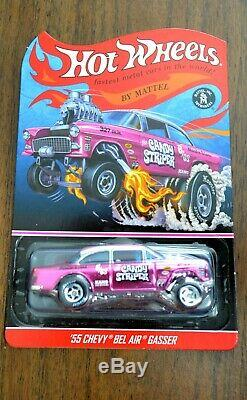 Hot Wheels RLC Exclusive 55 Chevy Bel Air Gasser Candy Striper