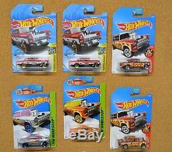 Hot Wheels RLC Exclusive 55 Chevy Bel Air Gasser Candy Striper