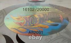 Hot Wheels RLC Exclusive Volkswagen VW Drag Bus Candy Striper #16102
