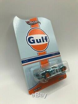 Hot Wheels RLC Gulf Racing Series Ford GT40 MIMC Ships WithProtector 1528/4000