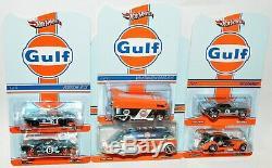 Hot Wheels RLC Gulf Set Bus Ford GT Porsche Camaro Beetle Rocket Oil MOC