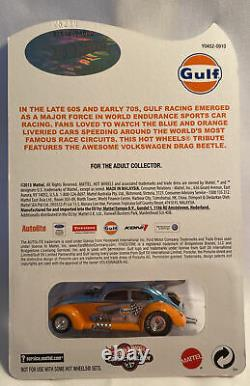 Hot Wheels RLC Limited Edition & Numbered Gulf Volkswagen Drag Beetle