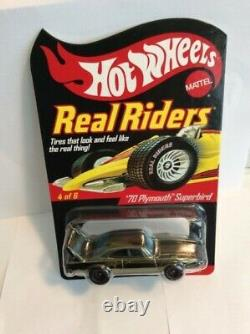 Hot Wheels RLC Real Riders Series 6 #4 of 6 70 Plymouth Superbird #10,802