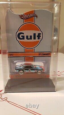 Hot Wheels RLC Red Line Club Gulf `67 Camaro Make an offer