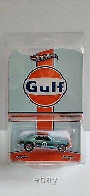 Hot Wheels RLC Red Line Club Gulf Oil'67 Camaro Gold # 749 of 4500 Limited