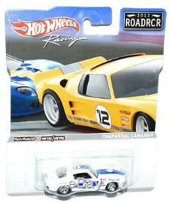 Hot Wheels Racing 2012 ROADRCR Set BMW Corvette Camaro Ford GT-40 Porsche MOC