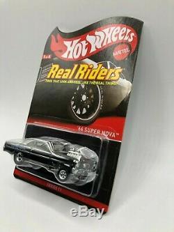 Hot Wheels Real Riders 66 Super Nova Series 11 MIBP Protecto