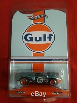 Hot Wheels Red Line Club (RLC) Gulf Ford GT40 Collector #786/4000