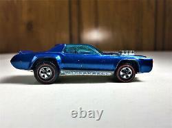 Hot Wheels Redline 1971 Sugar Caddy Blue Great Condition