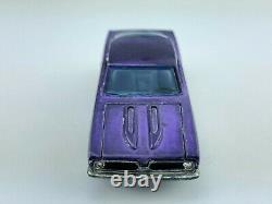 Hot Wheels Redline CUSTOM BARRACUDA Purple HK Purple Int VG/EX Great Combo