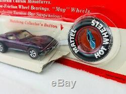 Hot Wheels Redline CUSTOM CORVETTE Magenta US BP BLISTERPACK SWEET! RARE