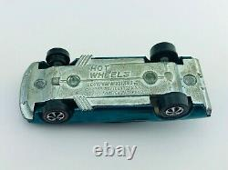 Hot Wheels Redline CUSTOM MUSTANG Aqua US White Int VG/EX TOUGH Car