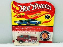 Hot Wheels Redline CUSTOM MUSTANG Red HK White Interior BP BLISTERPACK WOW