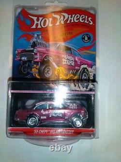 Hot Wheels Redline Club RLC'55 CHEVY BEL AIR Gasser Candy Striper MINT # 1562