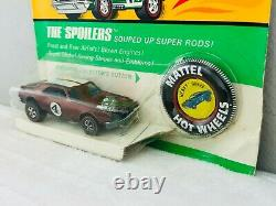 Hot Wheels Redline HEAVY CHEVY Brown Dark Int Blisterpack BP Carded TOUGH CAR