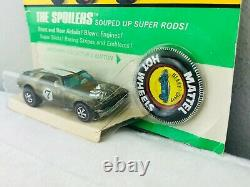Hot Wheels Redline HEAVY CHEVY Olive White Int Blisterpack BP Carded TOUGH CAR