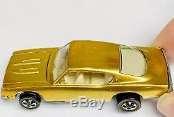 Hot Wheels Redline HYBRID Gold Custom Barracuda