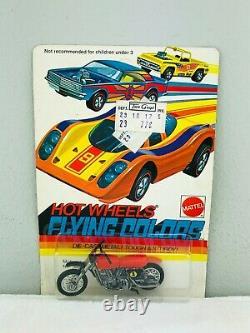 Hot Wheels Redline MOTOCROSS 1 Red Flying Colors Blister BP Carded RARE