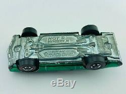 Hot Wheels Redline OLDS 442 Green US G/VG Super TOUGH! WOW