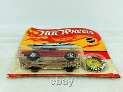 Hot Wheels Redline ROLLS ROYCE SILVER SHADOW Red Blisterpack BP Carded WOW