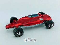 Hot Wheels Redline SHELBY TURBINE Red White Interior EX/NM SUPER RARE! WOW