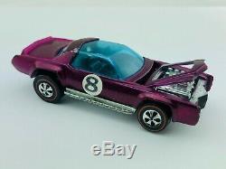 Hot Wheels Redline SUGAR CADDY Magenta Dark Int EX/NM GRAIL CAR SUPER RARE