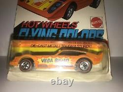 Hot Wheels Redline Vega Bomb Orange Mint on Unpunched Card