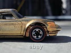 Hot Wheels Redlines 1975 Porsche P911 Carrera Salesman Reward Car VVHTF Gold